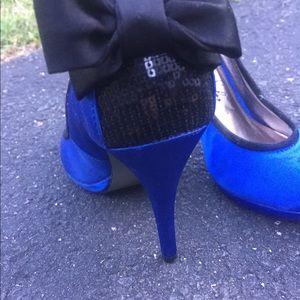 Shoes - Romantic Soles | Royal blue Pumps